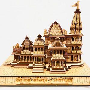 ram mandir miniature